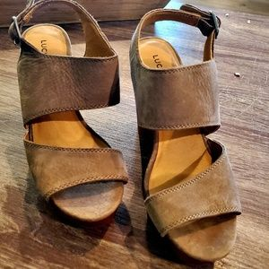 Lucky Brand Wedges Size  6